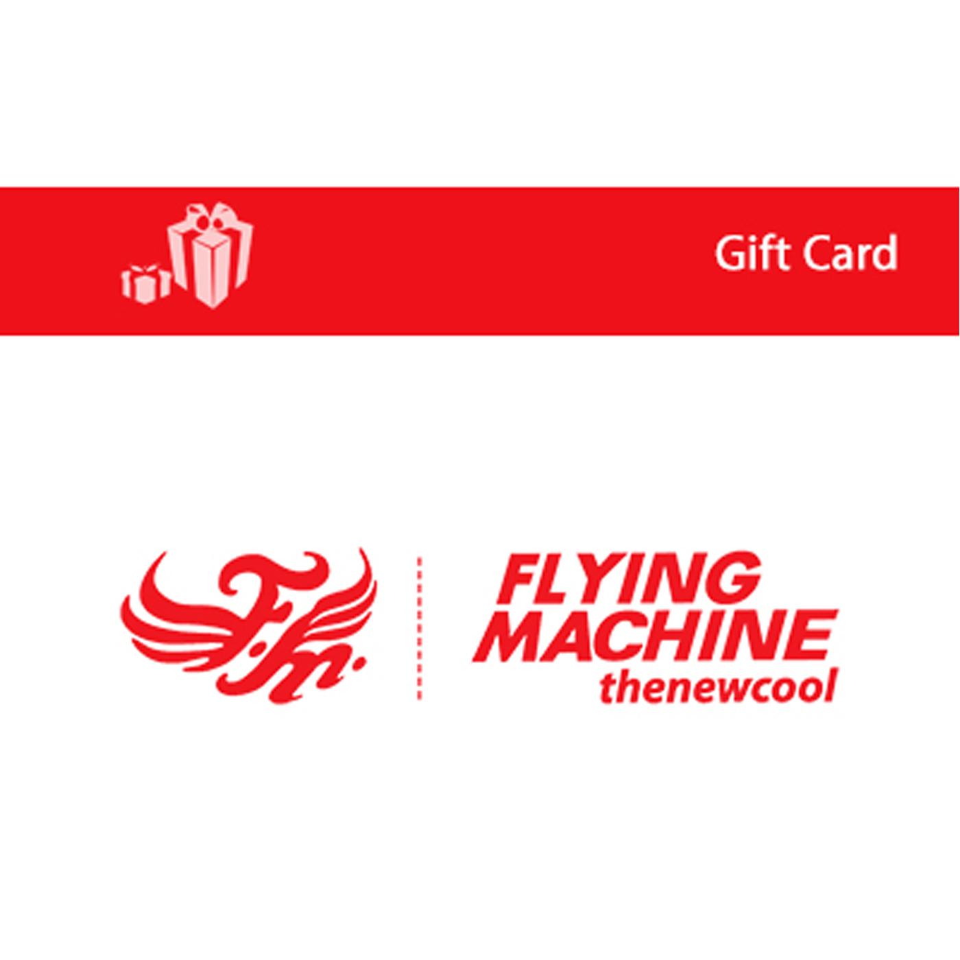 Flying Machine E-Gift Card