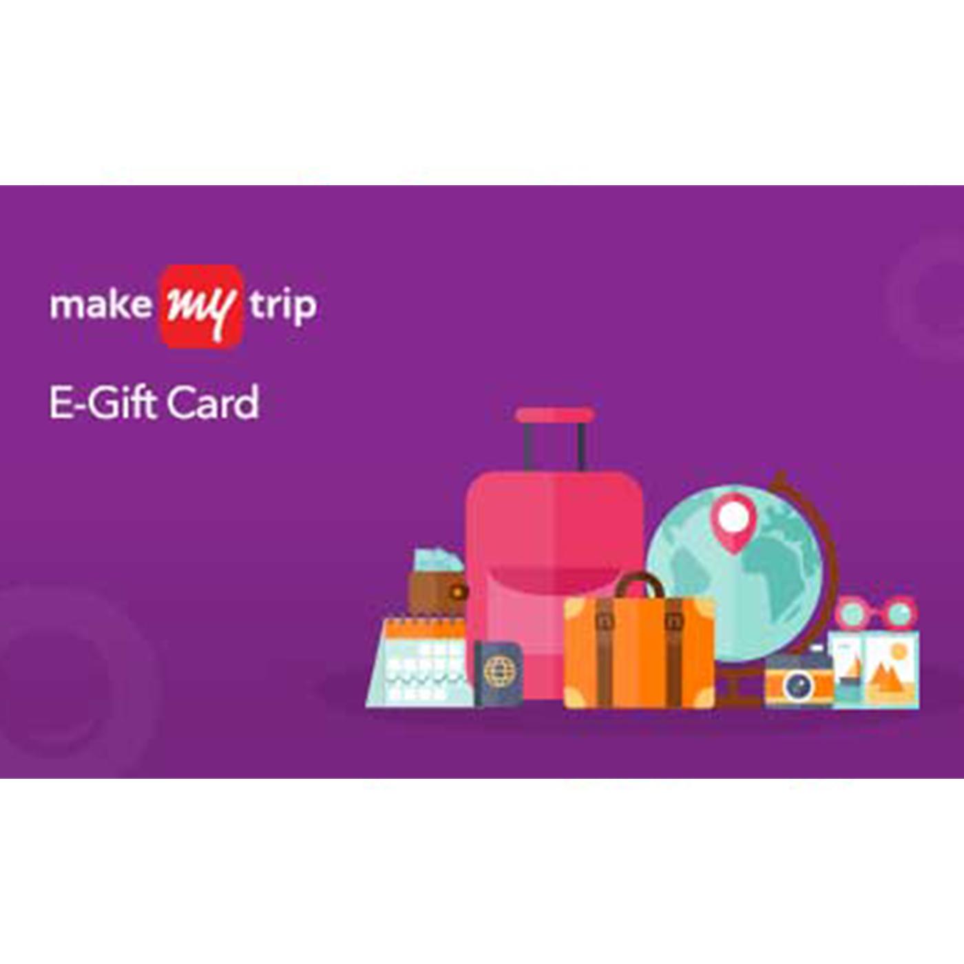 MakeMyTrip Holiday E-Gift Card