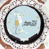 Buy 25th Anniversary Cake (1 Kg)