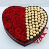 36 Roses And Ferrero in Box Online