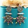 Antique Rajasthani Meenawork Handmade Earrings Online