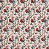 Gift Aster Flower Prints on Double Bedsheet with Pillow Covers