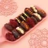 Buy Beads Rakhis With Gourmet Stuffed Dates