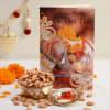 Bhaidooj Card With 200 Gms Almond & Roli Chawal Online