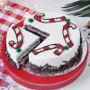 Shop Black Forest Christmas Cake (Half kg)