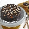 Buy Bunch of 10 Pink Roses with Whole Wheat Zucchini Chocolate Cake (Half Kg)