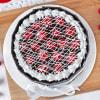 Buy Cherry Filled Chocolate Cake (Half Kg)