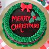 Gift Christmas Chocolate Cake (Half Kg)