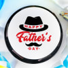 Buy Classic Happy Father's Day Poster Cake (Half Kg)
