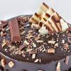 Shop Crunchy Kit Kat Chocolate Cake (Half Kg)