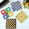 Gift Customized Board Games Coasters - Set of 4