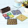 Buy Customized Board Games Coasters - Set of 4