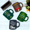 Buy Customized Coffee Love Coasters - Set of 4