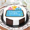 Cute Animals First Birthday Cake for Boy (Half Kg) Online