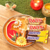Decorated Tikka Thali with Twix & Snickers Online