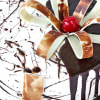 Shop Designer Chocolate Vanilla Cake (Eggless) (Half Kg)