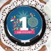 Buy First Anniversary Cake (Half Kg)