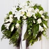 Funeral Wreath with Ribbon Online