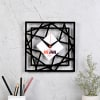 Geometric Design Personalized Wall Clock for Mom Online