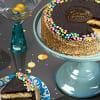Golden Fudge Celebration Cake Online