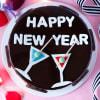 Gift Happy New Year Oreo Cake (Half Kg)