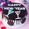 Happy New Year Oreo Cake (Half Kg) Online