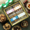 Gift Health Hamper of Flavoured Dry Fruits in Tray