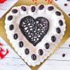 Gift Heart Coffee Cake (Half Kg)