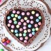 Buy Heart Shape Kit Kat Cake (Half Kg)