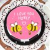 Buy Honey Bees Proposal Cake (Half Kg)