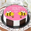 Honey Bees Proposal Cake (Half Kg) Online