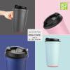 Buy Idea Cafe Suction Mug (400ml) - Customize With Logo