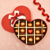 Just for You Romantic Box with Dark and Milk Chocolates 13 Pcs Online