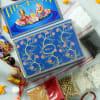 Gift Laxmi Ganesha Charan Paduka Set with Puja Kit