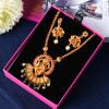 Buy Lord Ganesha Design Temple Jewellery Set