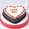 Love You Proposal Cake (Half Kg) Online