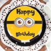 Buy Minion Birthday Cake (Half Kg)