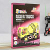 Buy Mixer Truck Assembly Toy Made by Cardbord (35 Pieces)