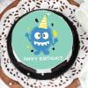 Buy Monster Birthday Cake (Half Kg)
