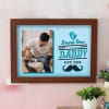 New Daddy Personalized Wooden Photo Frame Online