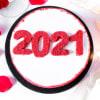 Gift New Year 2021 Red Velvet Cake (Half Kg)