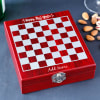 New Year Personalized Chessboard Wine Kit Online