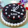 New Year Watch Chocolate Truffle Cake (Half Kg) Online