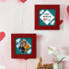 Personalized Anniversary Wooden Frame Set Online