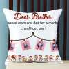 Shop Personalized Collage Photo Cushion for Brother