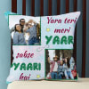 Personalized Friendship Photo Cushion Online
