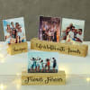Personalized Photo Block Frame for Friend Online