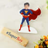 Gift Personalized SuperBoy Caricature for Kids