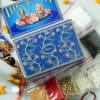 Gift Pooja Box With Thali And Samagri