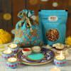 Puja Thali with Diya Set & Dry Fruit Potli Online